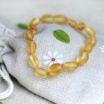 amber teething bracelet