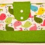 Nappy Wallet - Birds - Handmade