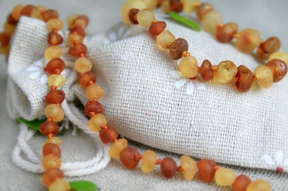 amber teething set