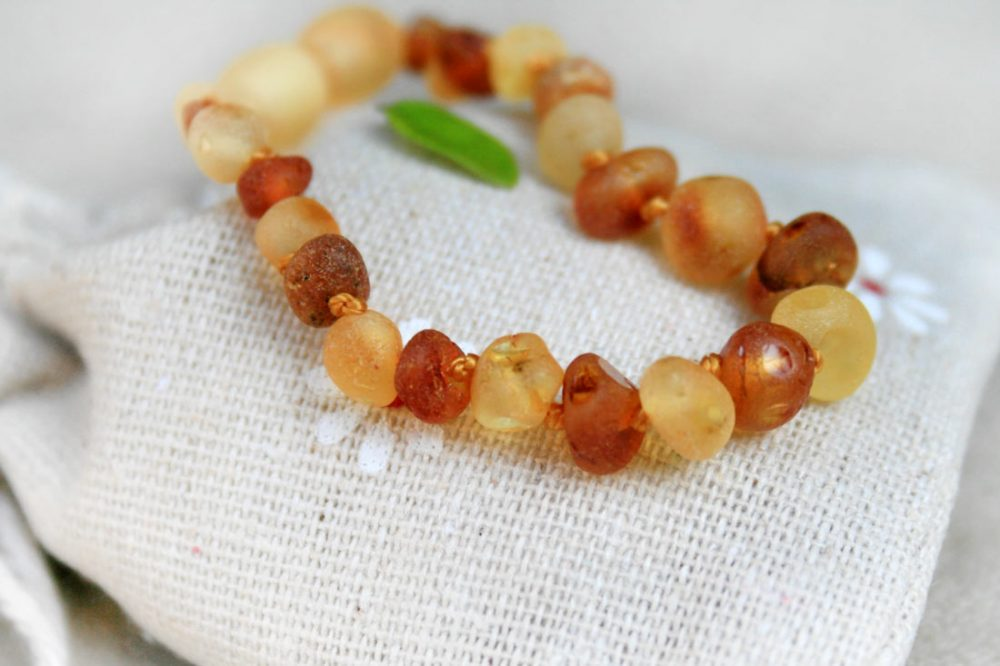 Baltic Amber Bracelet -Multicolour